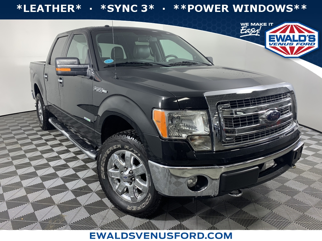 2013 Ford F-150 XLT Black DESIRABLE FEATURES LEATHERFORD SYNCSTEERING WHEEL CONTROLSFOG