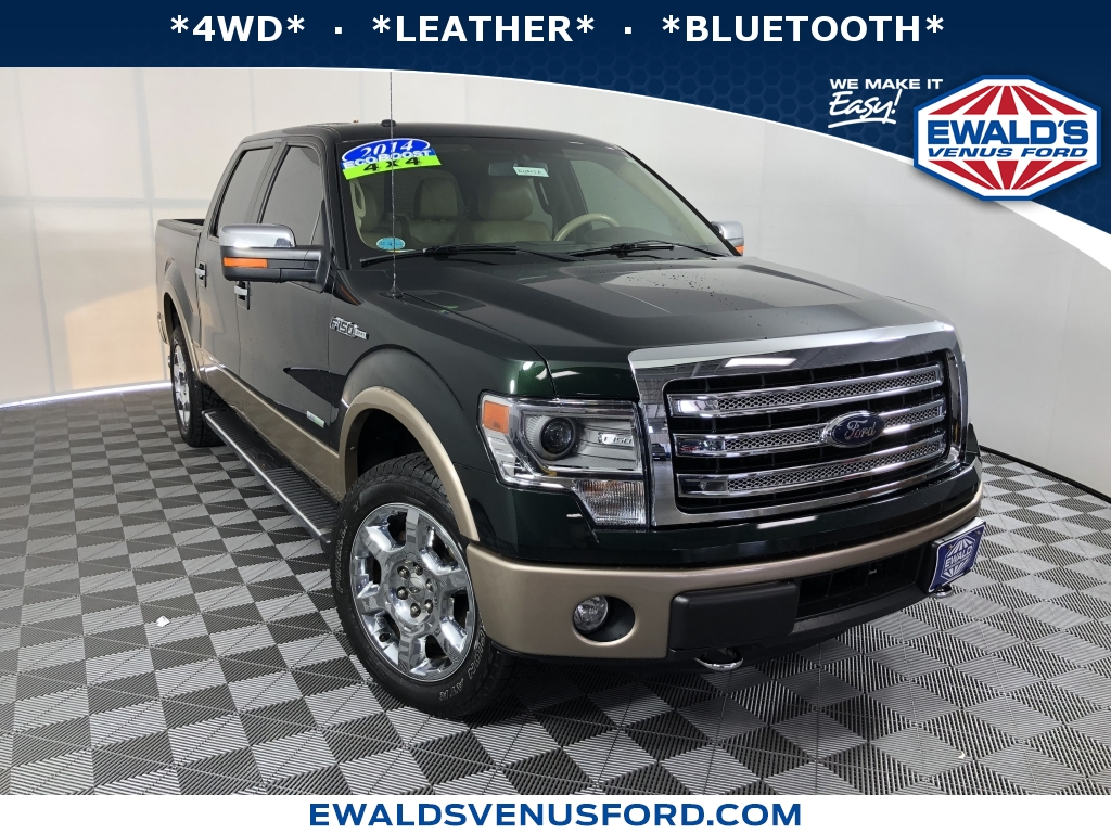 2014 Ford F-150 Green DESIRABLE FEATURES 4WD LEATHER BLUETOOTH This 2014 Ford F-150 feat