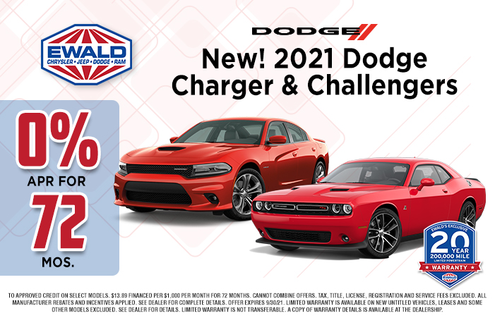 Dodge Charger & Challengers Offer