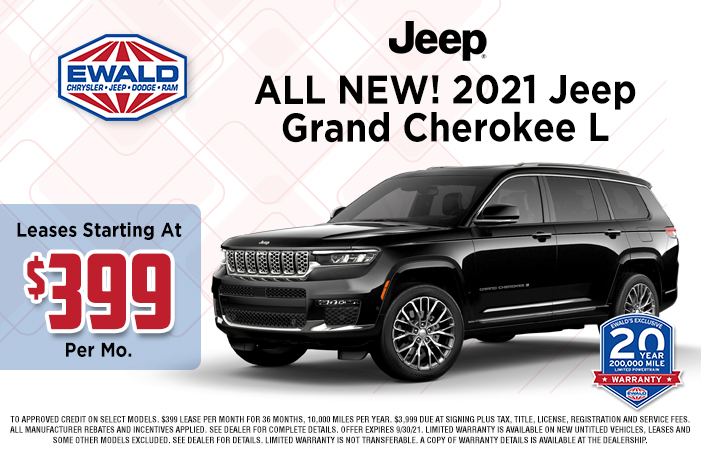 Jeep Grand Cherokee L Offer