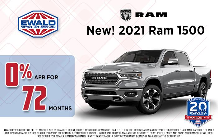 Ram 1500 Offer