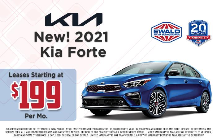 Kia Forte Offer