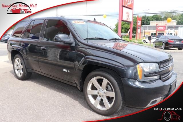 Used Black 2008 Chevrolet TrailBlazer stk# 187091 | Used Car