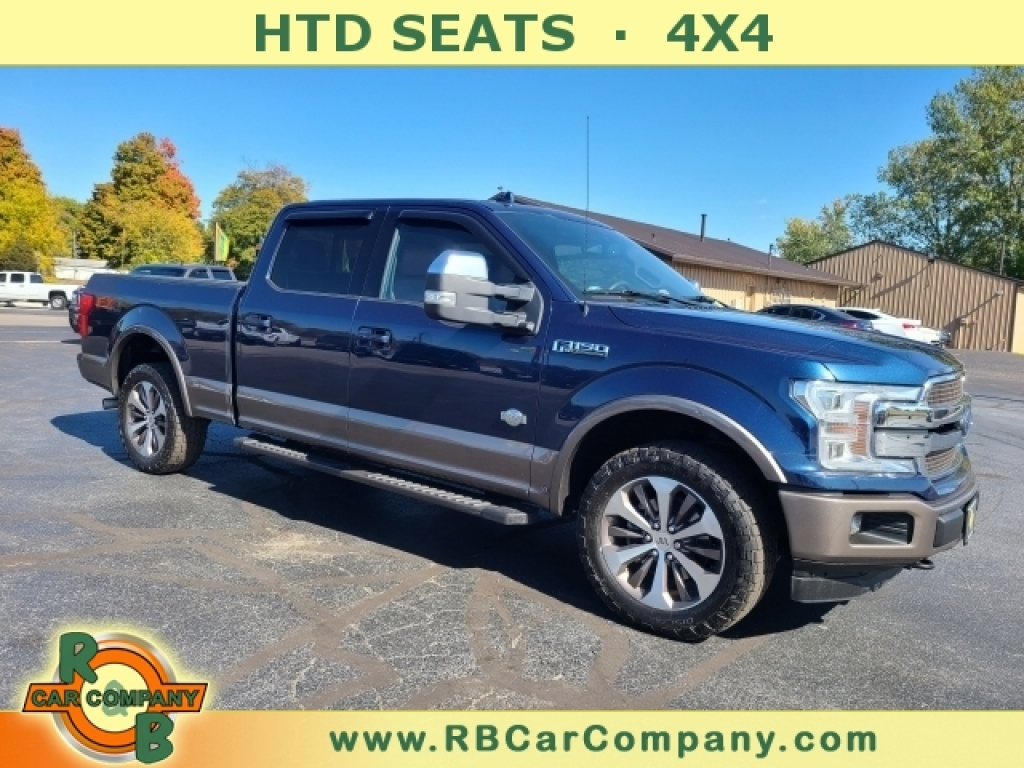 2018 Ford F-150 LARIAT 4WD , 31383, Photo 1