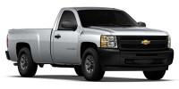 "Used, 2010 Chevrolet Silverado 1500 2WD Reg Cab 133.0"" Work Truck, White, 4603-1"