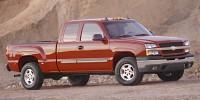 "Used, 2005 Chevrolet Silverado 1500 Ext Cab 143.5"" WB 4WD Z71, Silver, 35759A-1"