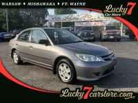 Used, 2005 Honda Civic Sedan VP, Gray, P2278-1