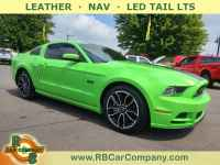 Used, 2014 Ford Mustang GT Premium, Green, 33001-1