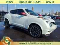 Used, 2015 Nissan JUKE 5dr Wgn CVT NISMO RS AWD, White, 32080-1