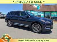 Used, 2019 INFINITI QX60 LUXE/PURE AWD, Blue, 30484-1