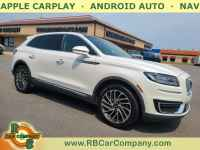 Used, 2019 Lincoln Nautilus Reserve AWD, White, 32094-1