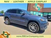Used, 2020 Jeep Grand Cherokee Summit 4x4, Blue, 32619-1