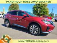 Used, 2020 Nissan Murano AWD SL, Red, 33067-1