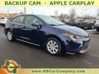 Used, 2020 Toyota Corolla LE CVT (Natl) FWD, Blue, 31922-1