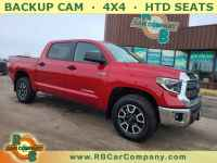 Used, 2021 Toyota Tundra SR5, Red, 32000-1