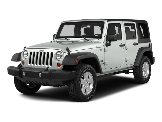 2015 Jeep Wrangler Unlimited Sahara Bright White Clearcoat CUSTOM JEEP WRANGLER SAHARA UNLIMITE
