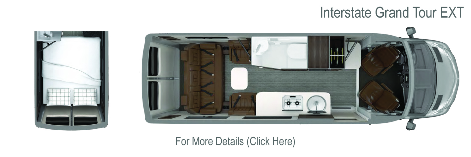 2020 Airstream Interstate Grand Tour Floorplan