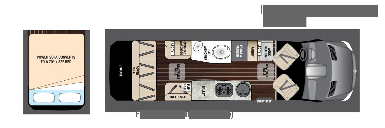 Interstate Grand Motor Coach Grand Tour EXT | Ewald Airstream