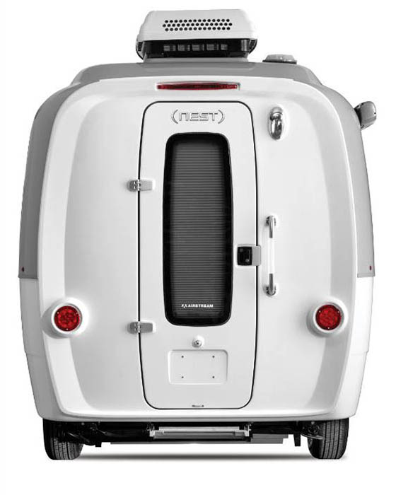 Airstream Nest Rear View