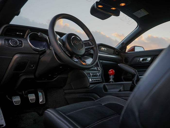 2019 ROUSH Stage 3 Mustang Interior