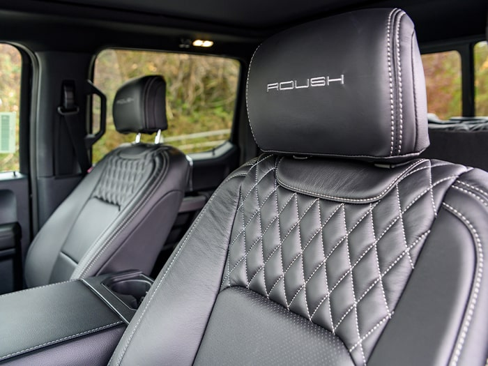 2020 ROUSH F-150 SC Seats
