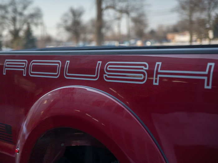 2018 ROUSH Super Duty ROUSH decal