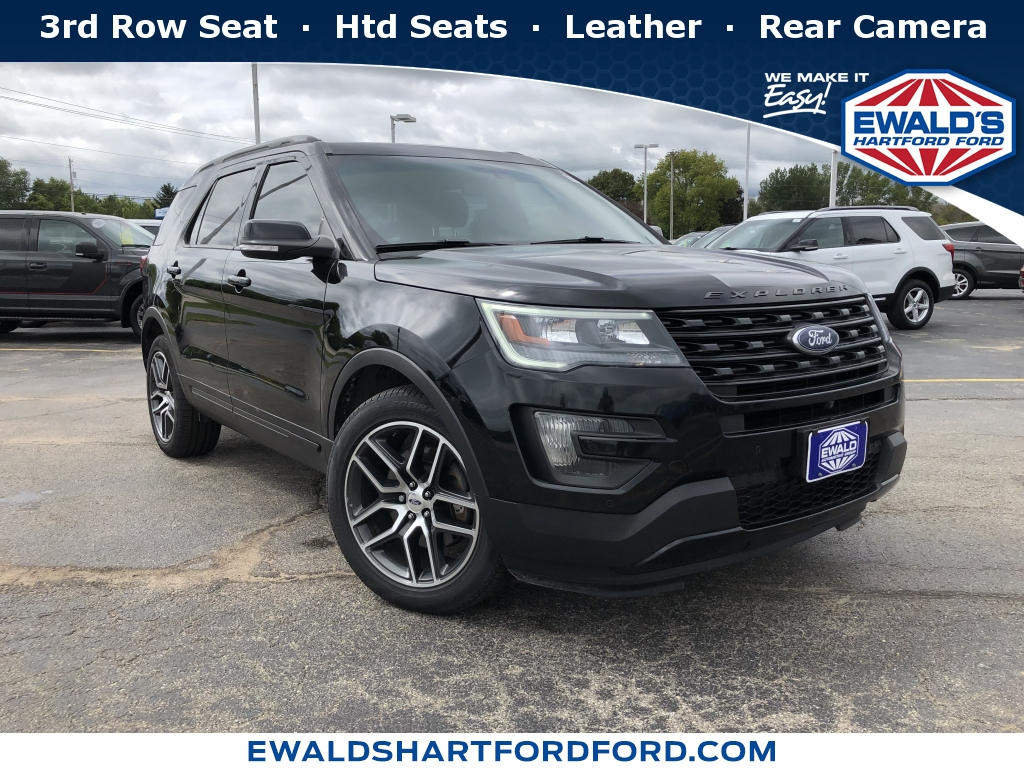2016 Ford Explorer XLT, HP56189, Photo 1
