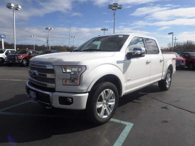 The New 2016 Ford F 150 Platinum For
