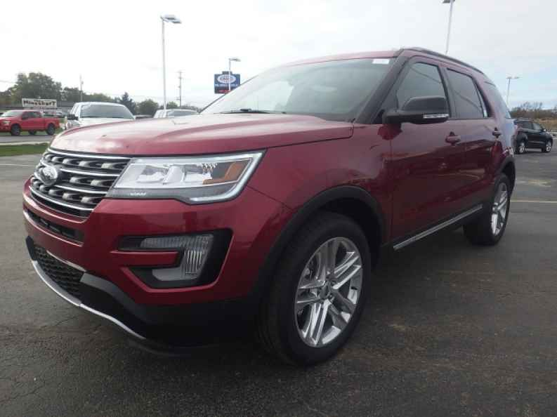 New 2017 Ford Explorer For Lease And