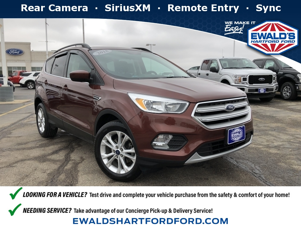 2018 Ford Escape SE, HP56387, Photo 1