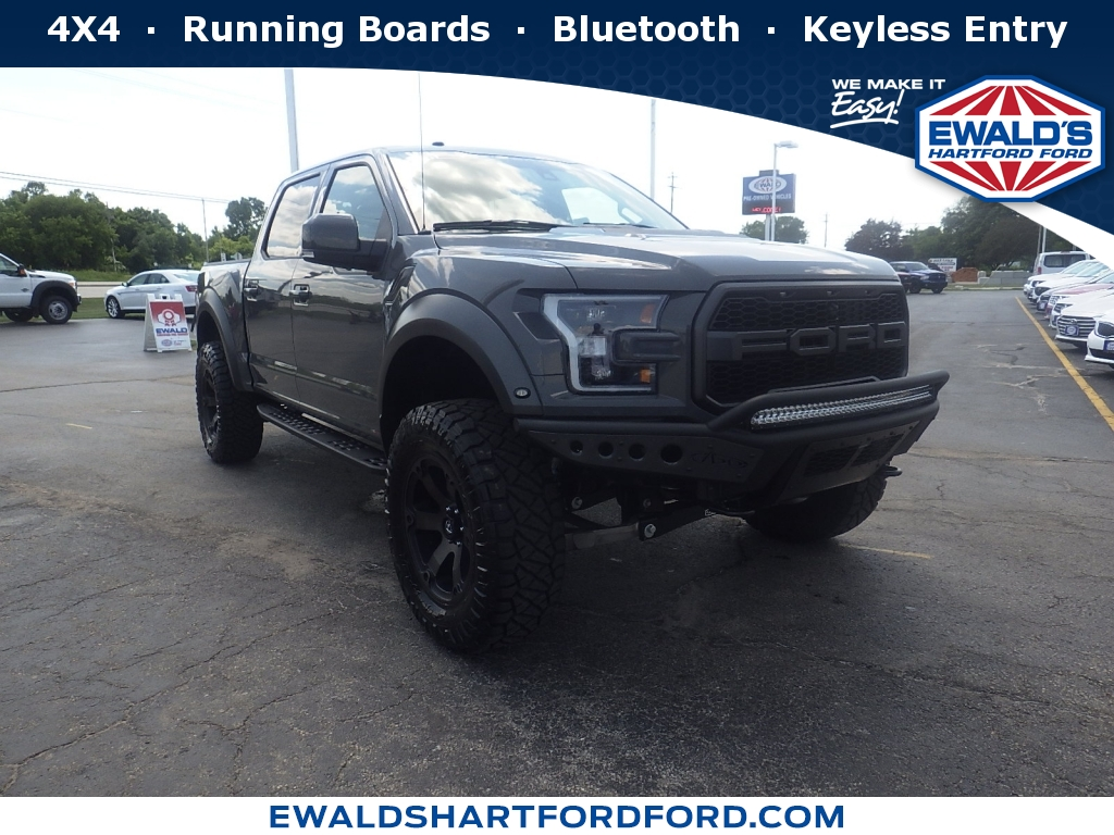 2018 Ford F-150 Raptor, SCA19456, Photo 1