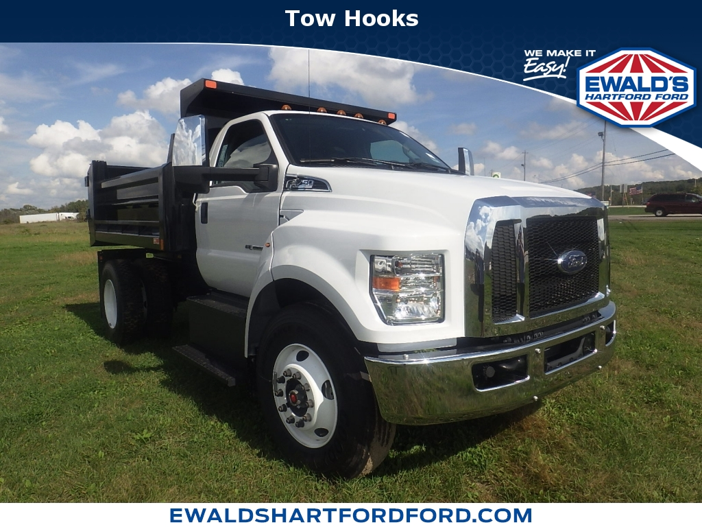 2018 Ford Super Duty F-650 Straight Fram Reg Cab, HA18805, Photo 1