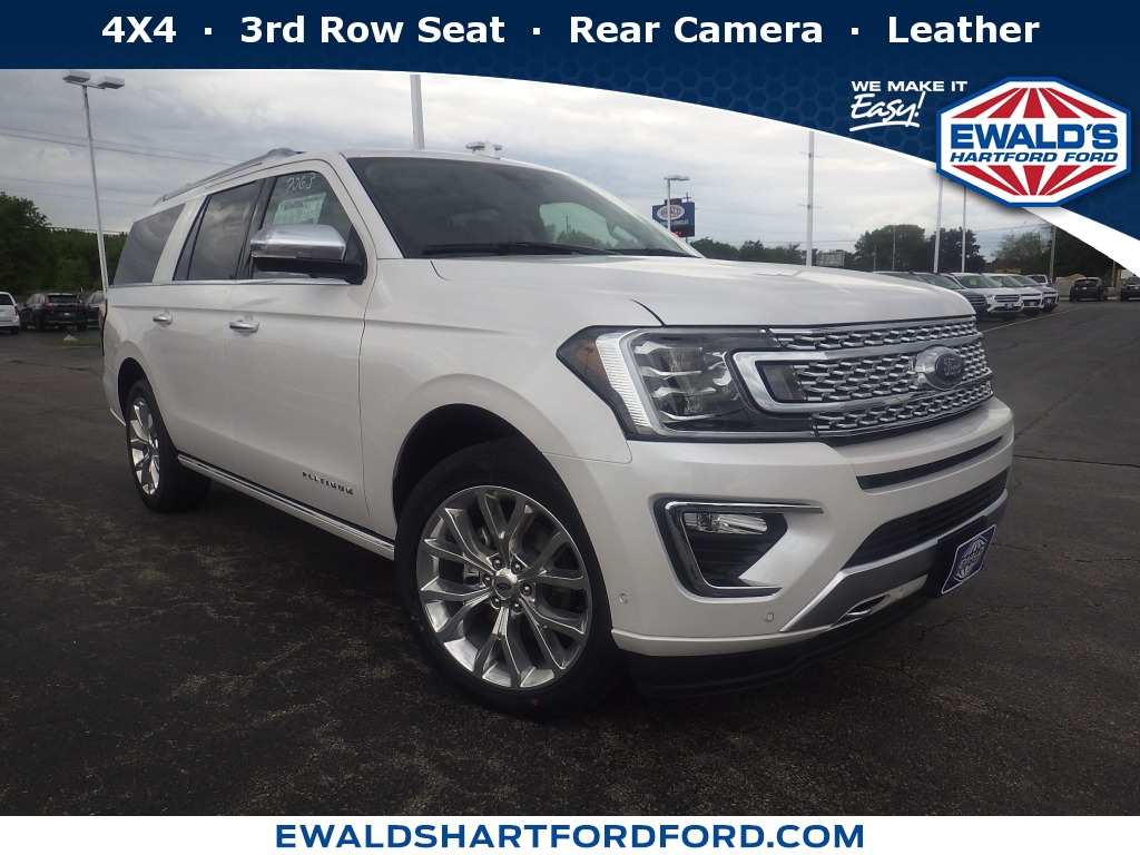 2019 Ford Expedition Max Limited, HB21615, Photo 1