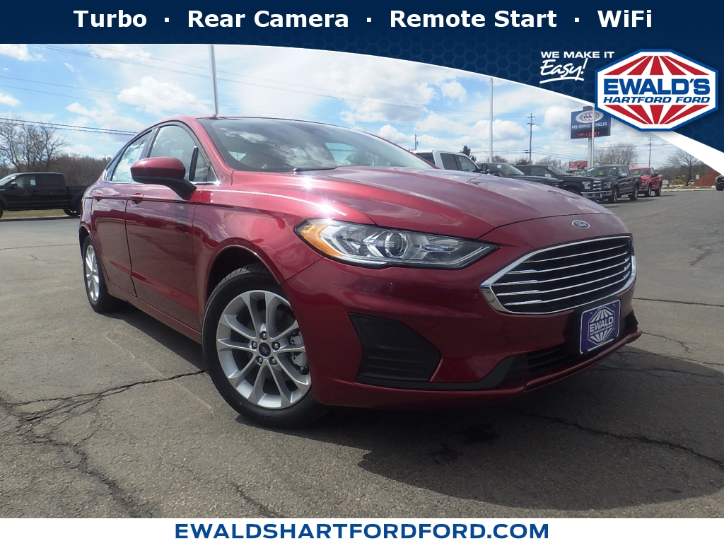 2019 Ford Fusion S, HTB21037, Photo 1