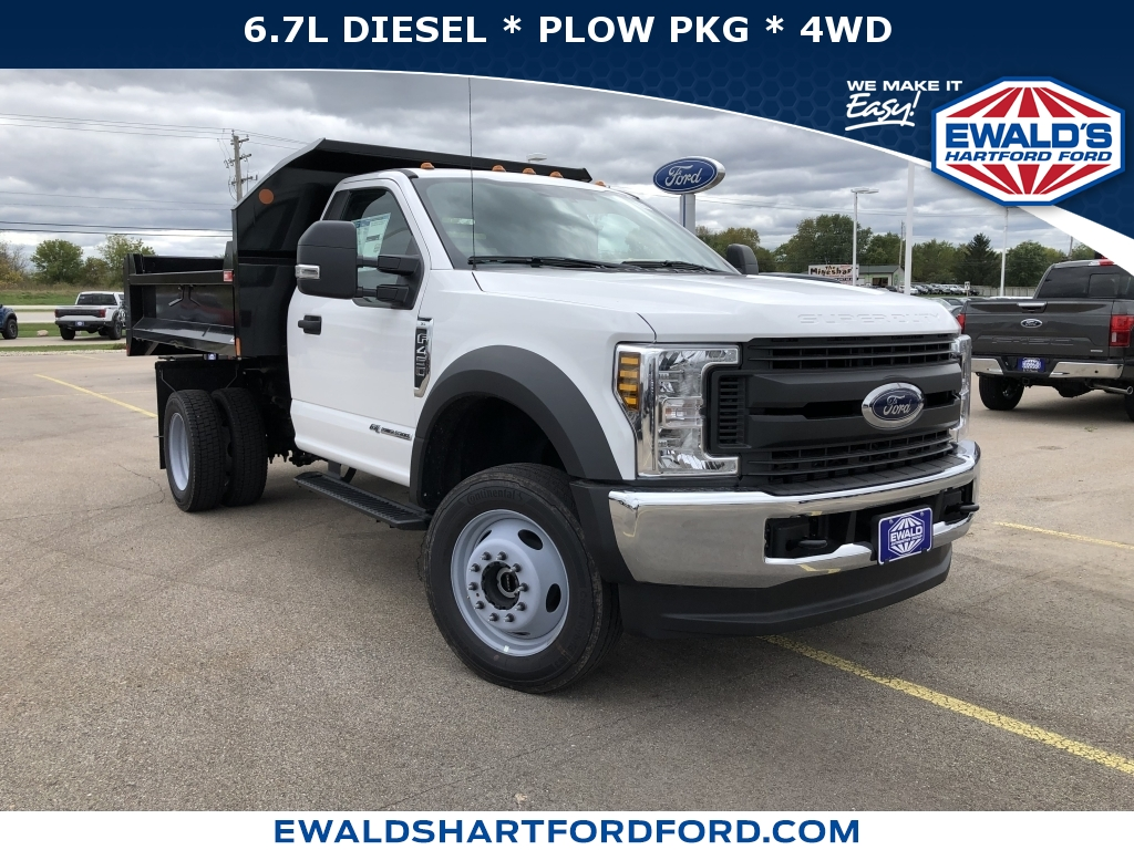 2019 Ford Super Duty F-450 DRW XL, HTB20082, Photo 1