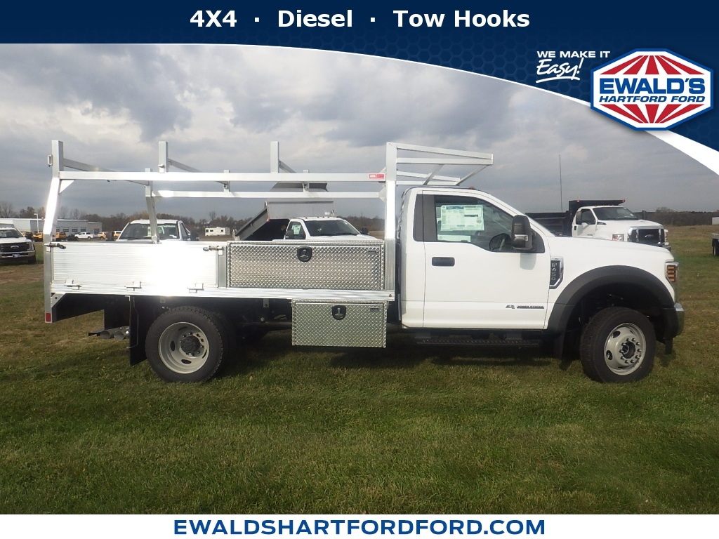 2019 Ford Super Duty F-550 DRW XL, HTB20053, Photo 1