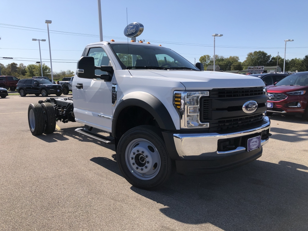 2019 Ford Super Duty F-550 DRW Chassis C XL, HB21473, Photo 1