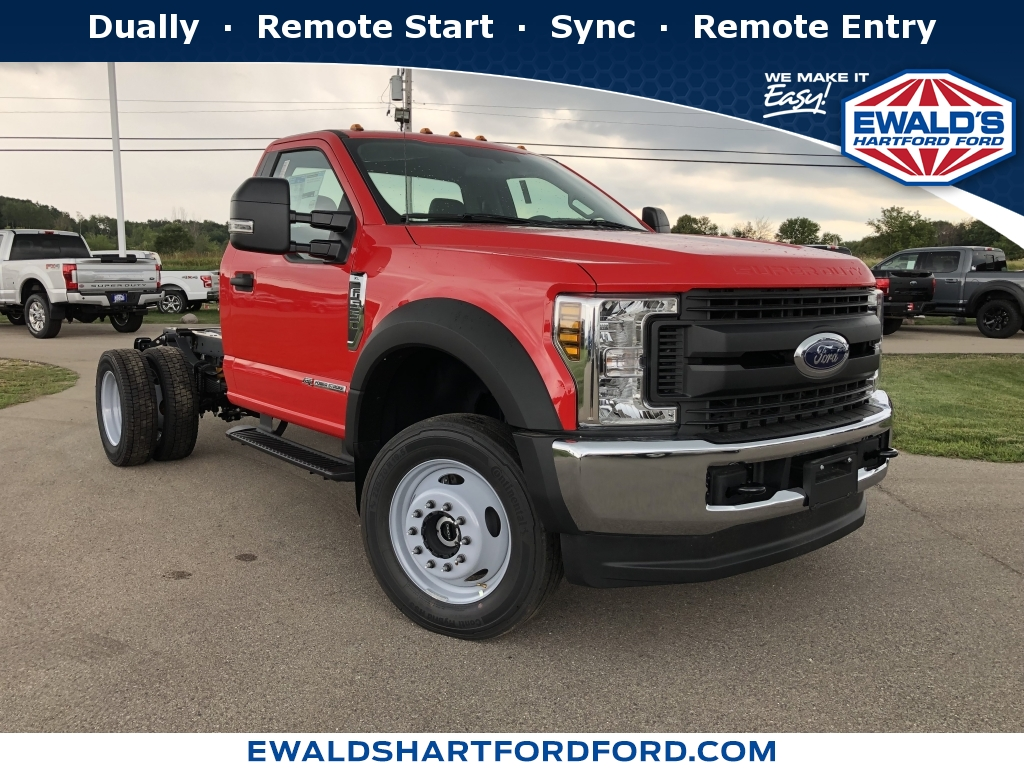 2019 Ford Super Duty F-550 DRW Chassis C XL, HB21476, Photo 1