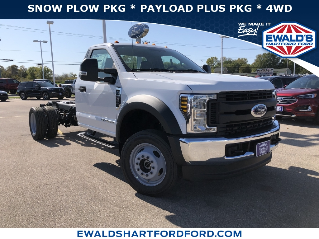 2019 Ford Super Duty F-550 DRW Chassis C XL, HB21456, Photo 1