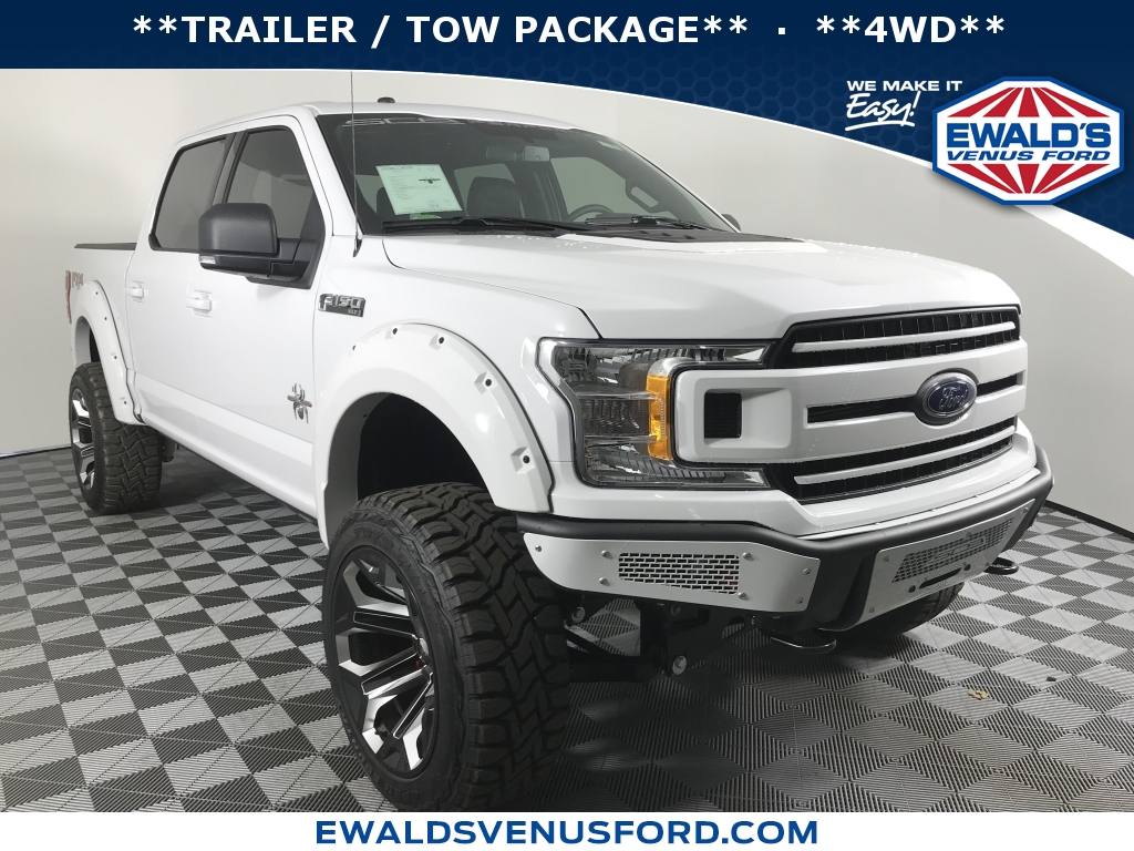 2018 Ford F-150 SCA BLACK WIDOW XLT, B11679, Photo 1