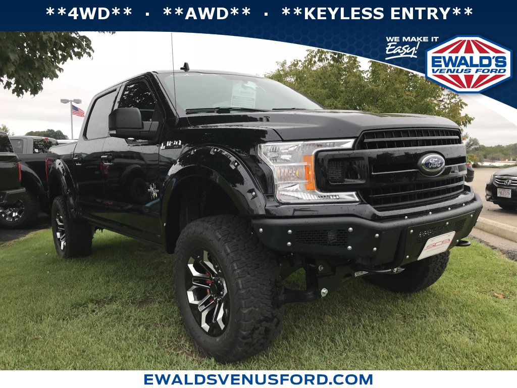 2018 Ford F-150 SCA BLACK WIDOW XLT, B11103, Photo 1