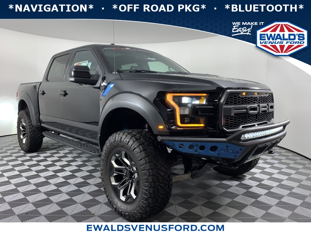2018 Ford F-150 SCA BLACK WIDOW, B11623, Photo 1