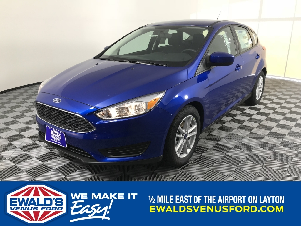 2018 Ford Focus S, B10963, Photo 1