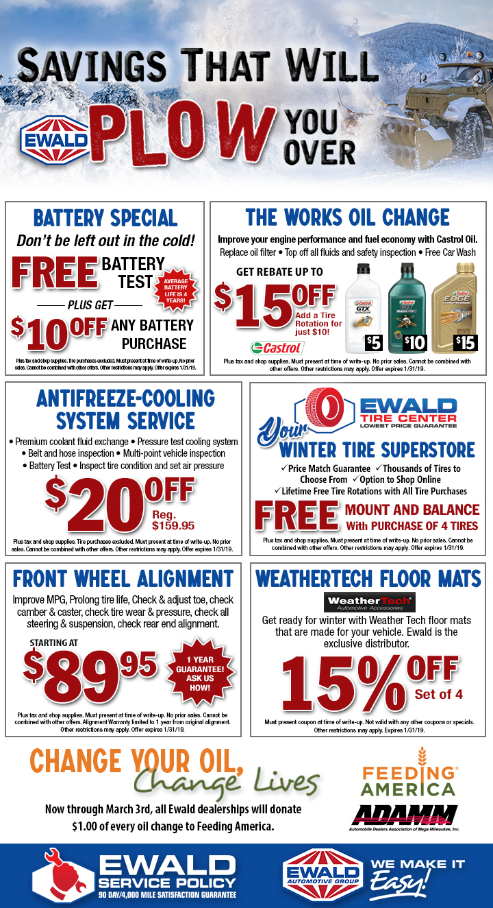 Ford Service Parts Coupons Ewald S Venus Ford