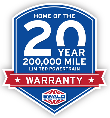 Home of the 20 Year / 200,000 Mile Limited Powertrain Warranty