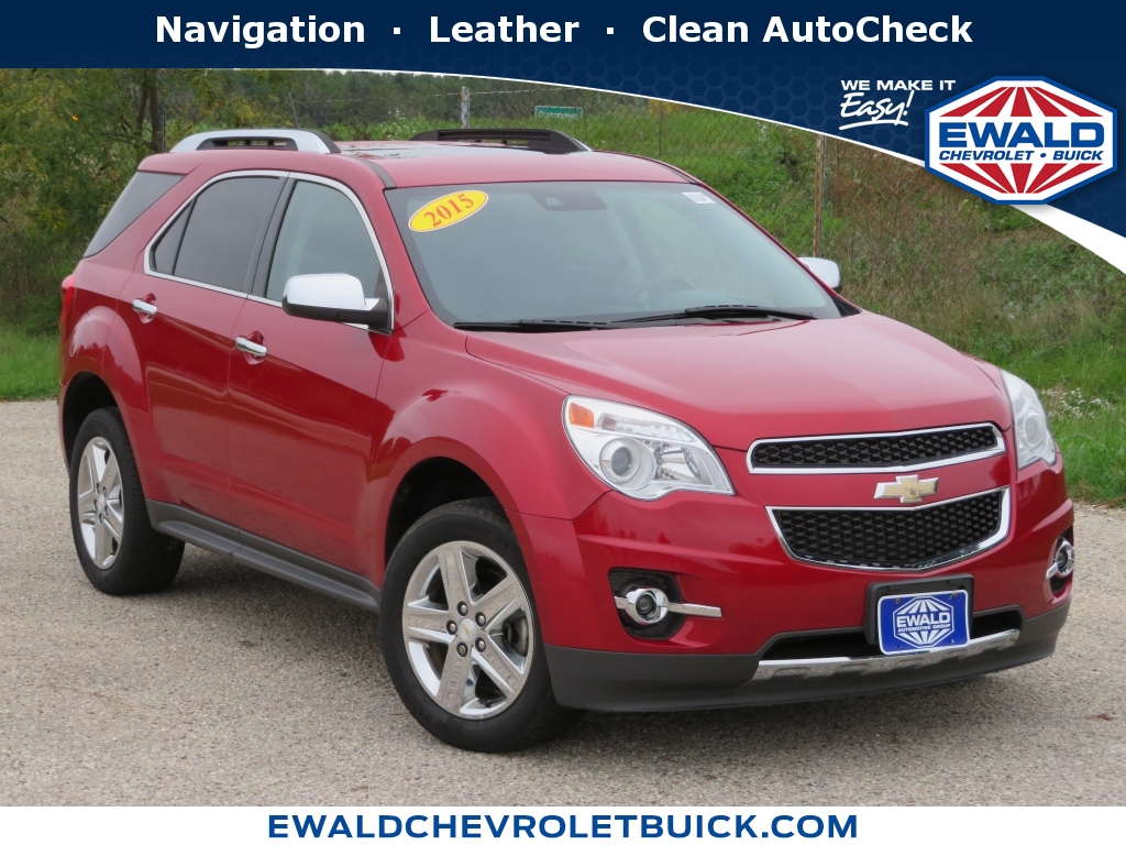 2015 Chevrolet Equinox LT, 20C54A, Photo 1