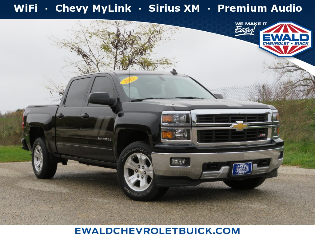 2015 Chevrolet Silverado 1500 LT, GN4389A, Photo 1