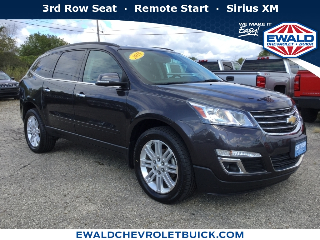 2015 Chevrolet Traverse LT, GN4106, Photo 1