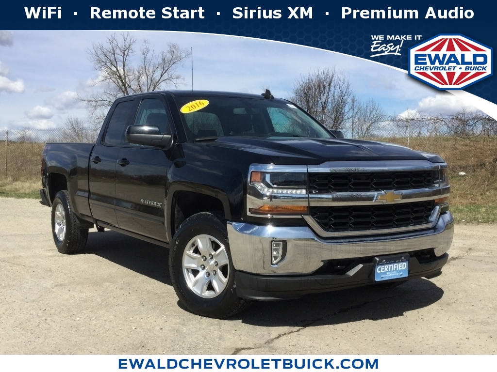 2016 Chevrolet Silverado 1500 LT, GN4338, Photo 1