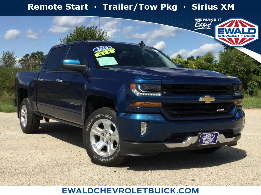 2016 Chevrolet Silverado 1500 LT, GP4370, Photo 1